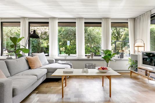 Villa på Kulsviertoften i Kongens Lyngby - Stue