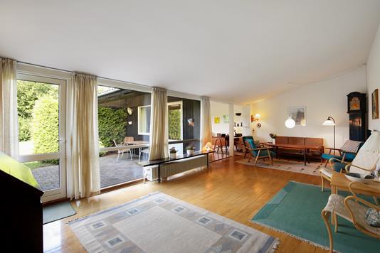 Villa på Danmarksvej i Kongens Lyngby - Stue