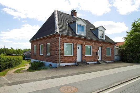 Villa på Ribevej i Vejle - Set fra vejen