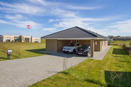 Villa på Skytten i Vejle - Set fra vejen
