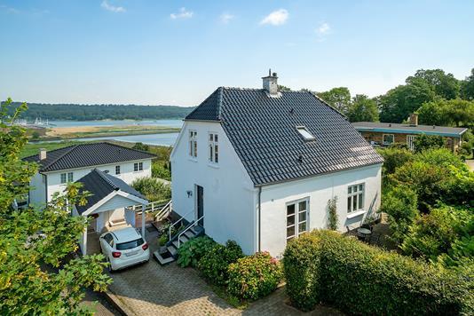 Villa på Dornsvej i Vejle - Set fra haven