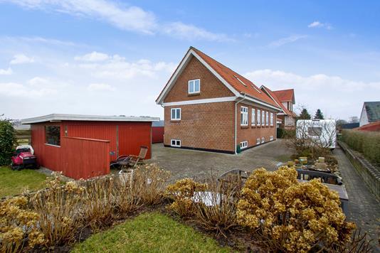 Villa på Smørhullet i Vejle - Set fra haven