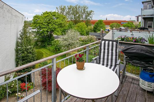 Villa på Bleggaardsgade i Vejle - Altan