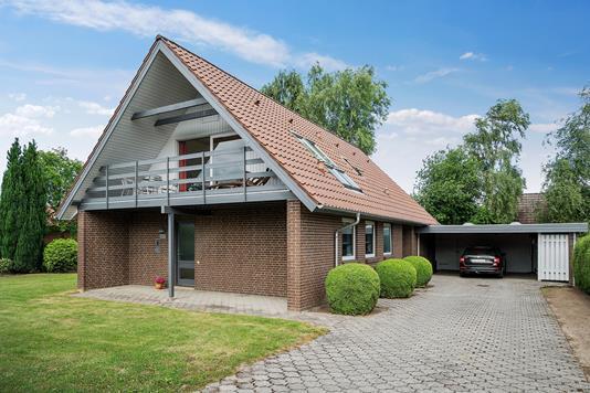 Villa på Hesselkrog i Vejle - Set fra vejen