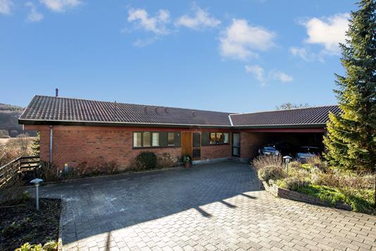 Villa på Skibsbroen i Vejle - Set fra vejen