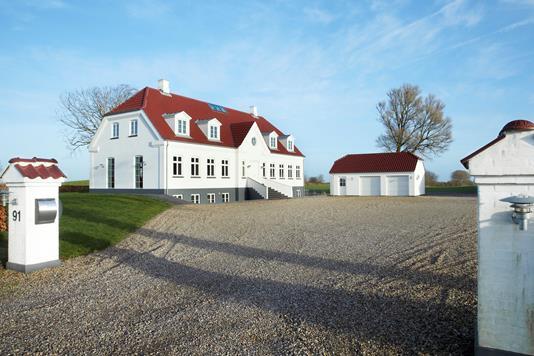 Villa på Tårnvej i Vejle - Set fra vejen