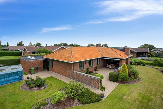 Villa på Saturnvej i Vejle - Set fra haven