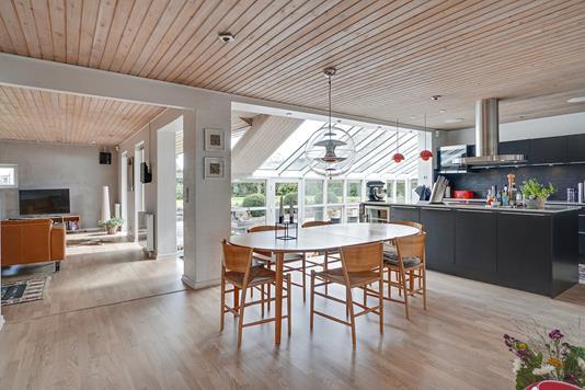 Villa på Overager i Vejle Øst - Køkken alrum