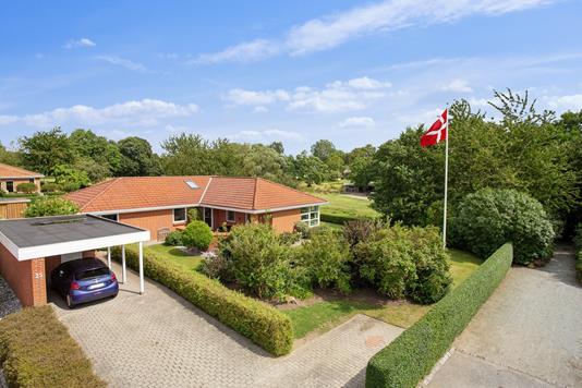 Villa på Heisesvej i Vejle - Set fra vejen