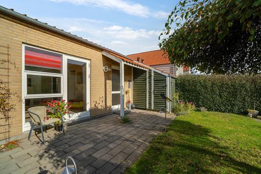 Villa på Majsvangen i Vejle Øst - Terrasse