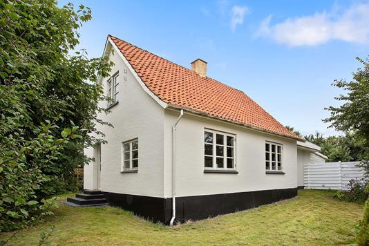Villa på Byvej i Føllenslev - Set fra haven