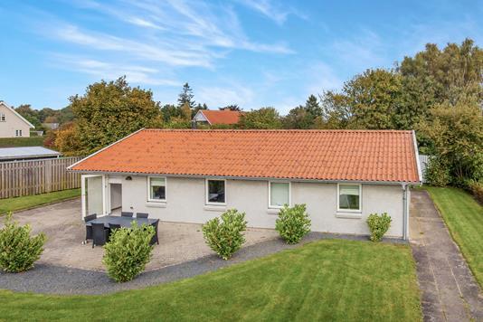 Villa på Skovvænget i Mørkøv - Ejendommen