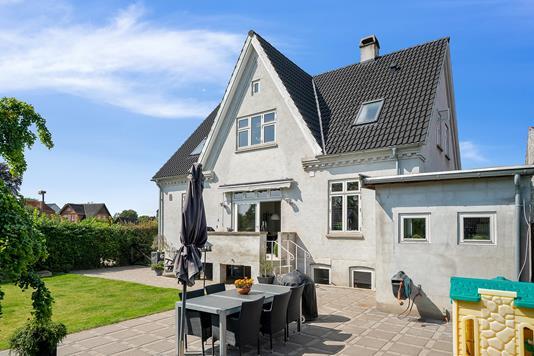 Villa på Holbækvej i Jyderup - Terrasse