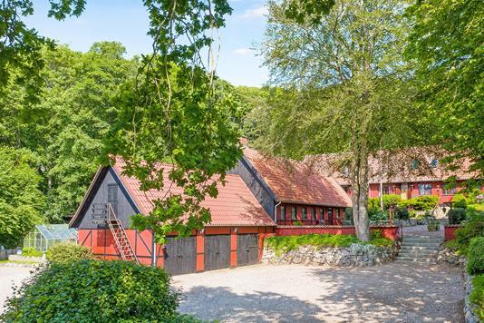 Villa på Bjergsted Bakker i Svebølle - Ejendommen