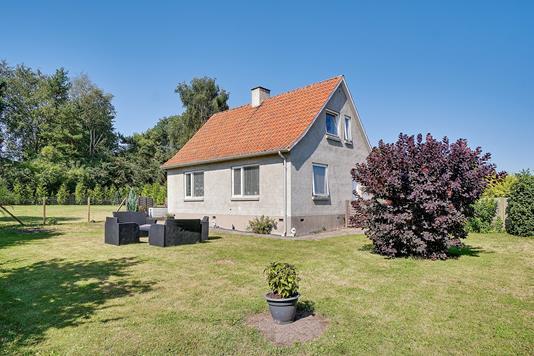 Villa på Vesterbjergvej i Snertinge - Set fra haven