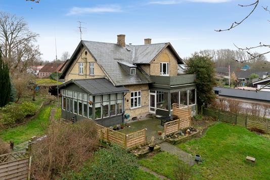 Villa på Holbækvej i Jyderup - Set fra haven