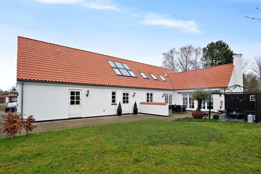 Villa på Tværvej i Jyderup - Set fra haven