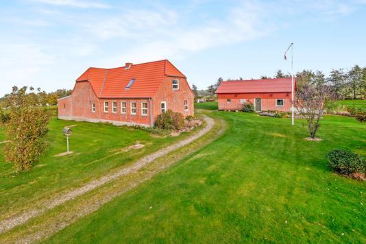 Villa på Lundøvej i Højslev - Ejendommen