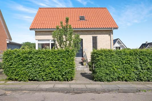 Villa på Sjællandsgade i Skive - Ejendommen