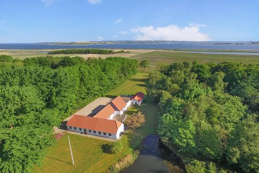 Villa på Risumvej i Roslev - Luftfoto