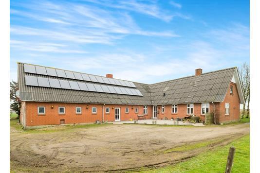 Villa på Lysenvej i Roslev - Ejendommen