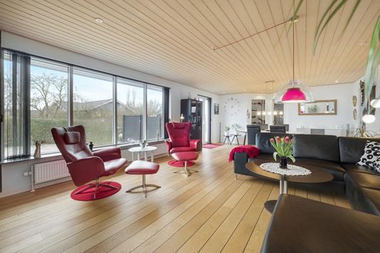 Villa på Katrinevej i Skive - Stue