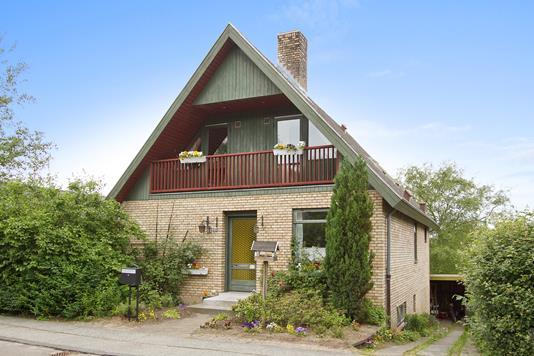 Villa på Skovbakken i Skive - Facade