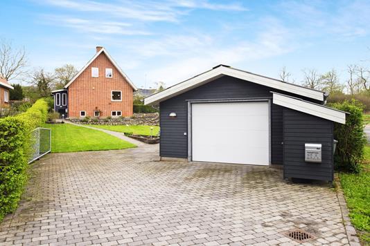 Villa på Brårupgade i Skive - Garage