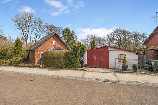 Villa på Jernbanegade i Roslev - Ejendom 1