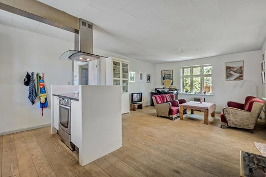 Villa på Østergade i Roslev - Køkken