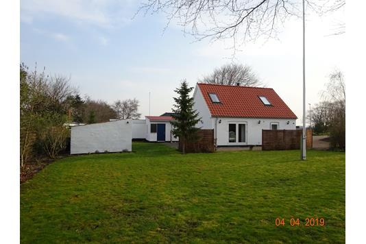 Villa på Kærvej i Højslev - Facade havesiden