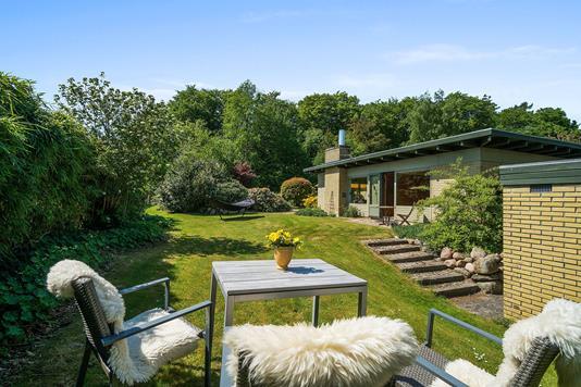 Villa på Vestre Paradisvej i Holte - Have