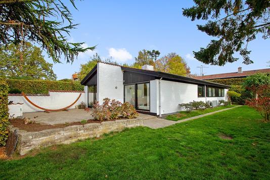 Villa på Fagerparken i Vedbæk - Set fra haven