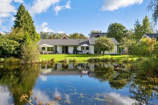 Villa på Bregnebakken i Birkerød - Set fra haven