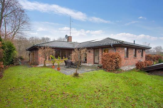 Villa på Kratmosevej i Vedbæk - Set fra haven