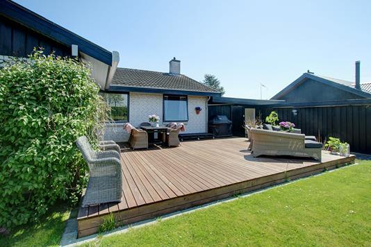 Villa på Bogårdsvej i Humlebæk - Terrasse