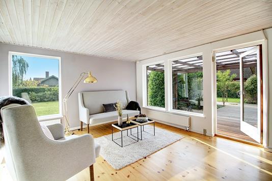 Villa på Langebjergvej i Humlebæk - Stue