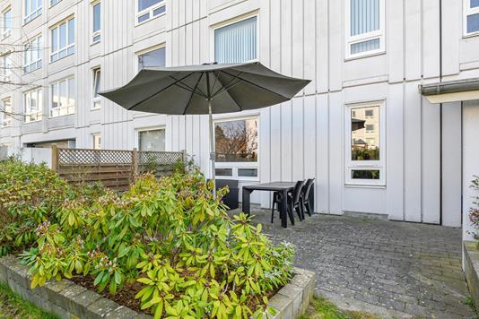 Ejerlejlighed på Teglgårdsvej i Humlebæk - Terrasse