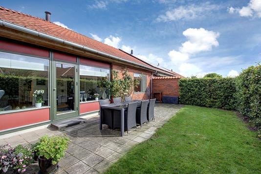 Rækkehus på Strandgårdsvej i Humlebæk - Terrasse