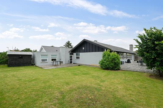 Villa på Visselbjergvej i Egå - Set fra haven