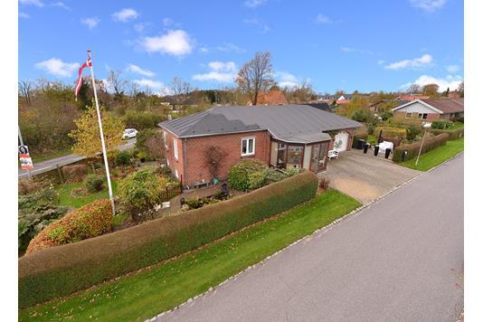 Villa på Håruptoften i Hjortshøj - Ejendommen