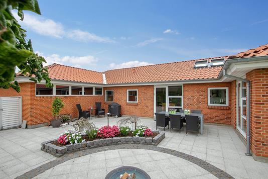 Villa på Nyvangsvej i Hørning - Terrasse