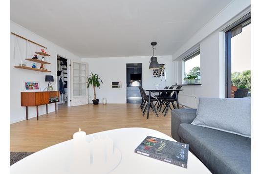 Villa på Risvangen i Hørning - Stue
