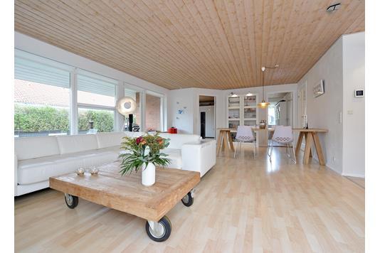 Villa på Valmuevænget i Hørning - Stue