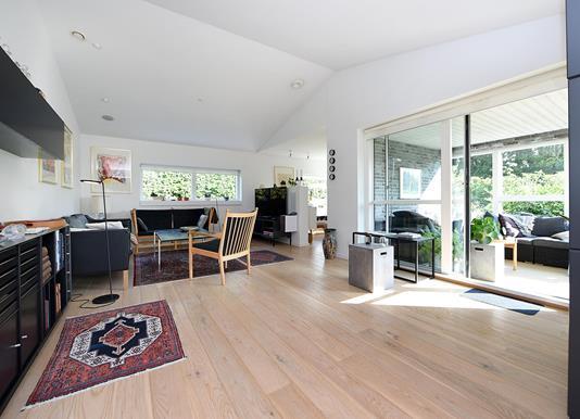 Villa på Østergårds Alle i Hørning - Stue