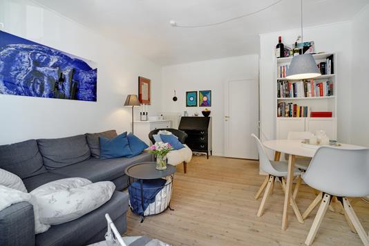 Ejerlejlighed på Houmanns Allé i København NV - Stue