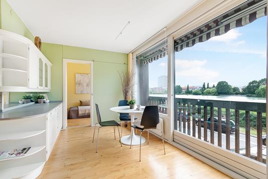 Ejerlejlighed på Vester Søgade i København V - Køkken