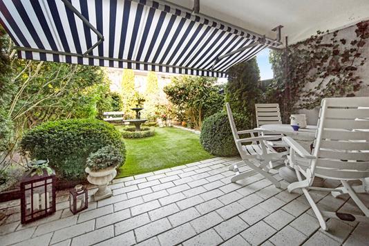 Villa på Schoutgården i Dragør - Terrasse