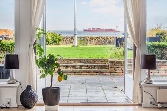 Villa på Øresunds Alle i Dragør - Terrasse