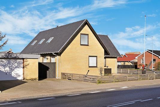 Villa på Østergade i Hirtshals - Ejendommen